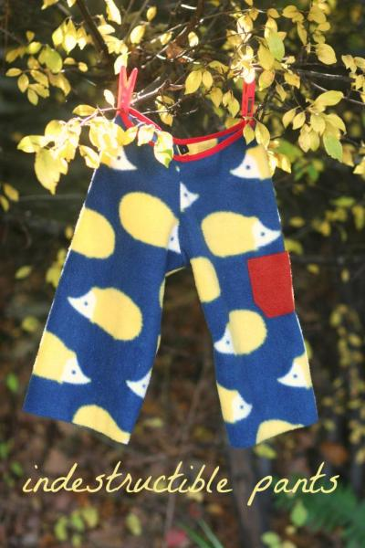 easy kids pants